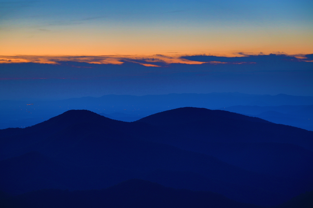 Sunrise at Green Knob Overlook, Blue Ridge Parkway, NC