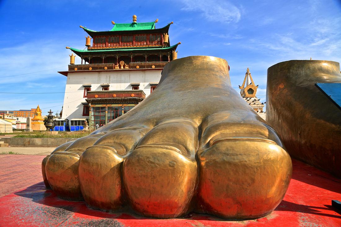 Gandantegchinlen Buddhist Monastery, Ulaanbaatar