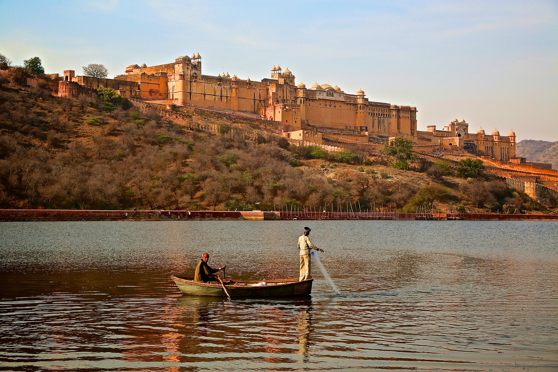 Amer Fort and Palace, Jaipur, India - built in late 16th century