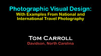 2016 Aug - Photographic Visual Design: Travel