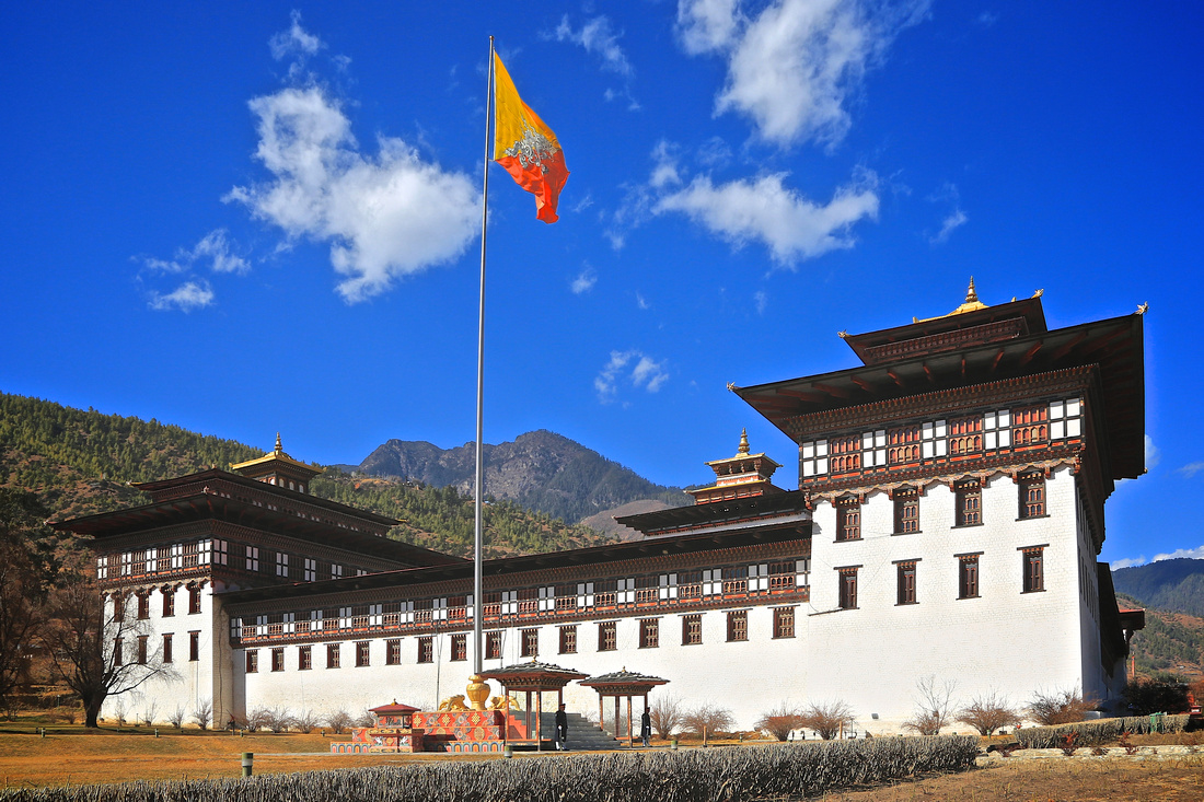 "Tashichho Dzong - ""Fortress of the Glorious Religion"" - Thimphu"