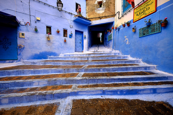 "Chefchaouen, Morocco (aka ""The Blue City"")"