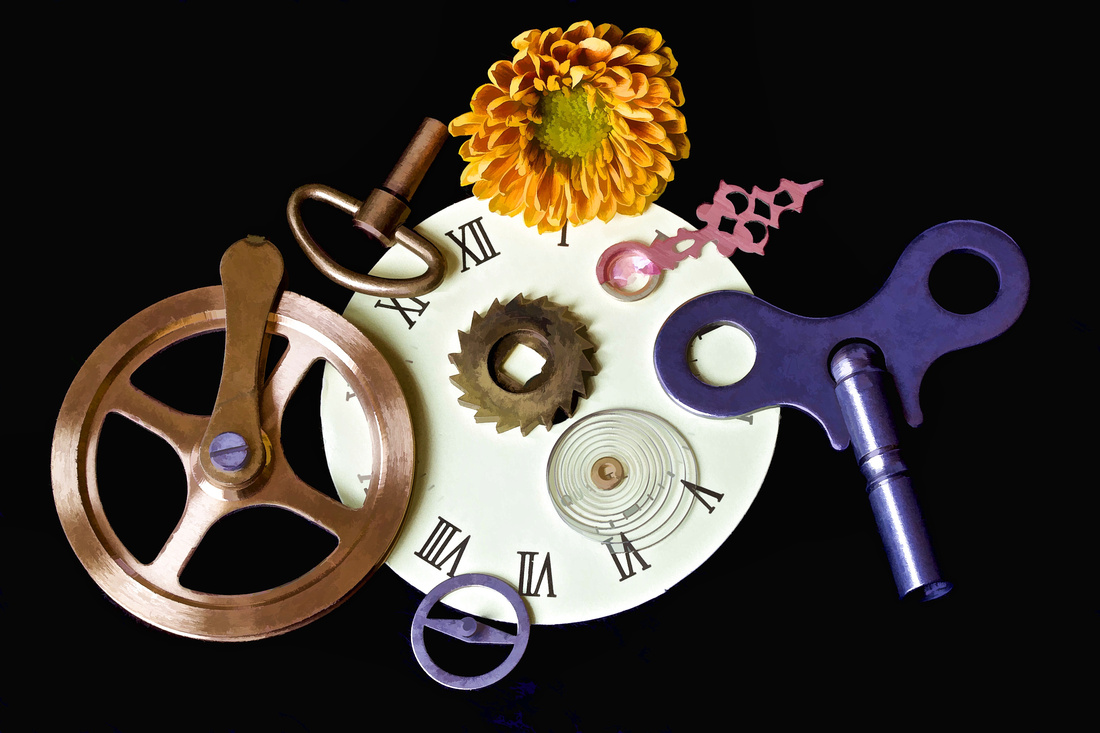 Flowers & Clocks