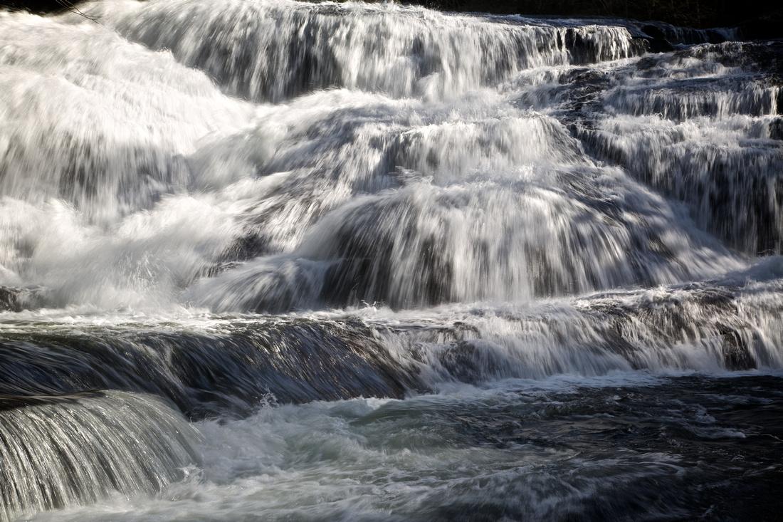 Triple Falls, Brevard, NC